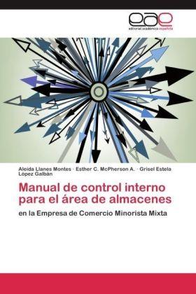 Manual de control interno para el área de almacenes - en la Empresa de Comercio Minorista Mixta