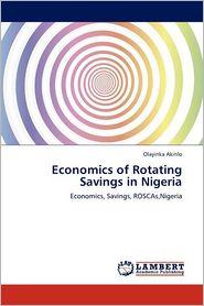 Economics Of Rotating Savings In Nigeria - Olayinka Akinlo