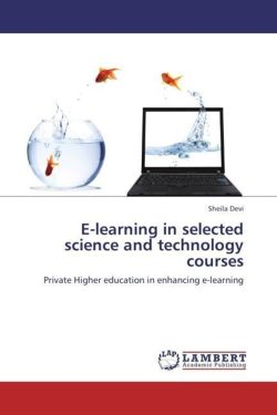 E-learning in selected science and technology courses