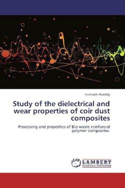 Study of the dielectrical and wear properties of coir dust composites