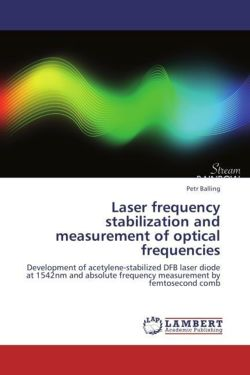 Laser frequency stabilization and measurement of optical frequencies