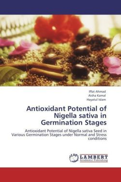 Antioxidant Potential of Nigella sativa in  Germination Stages