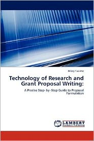 Technology of Research and Grant Proposal Writing