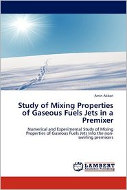 Study Of Mixing Properties Of Gaseous Fuels Jets In A Premixer