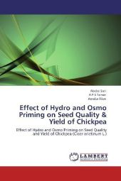Effect of Hydro and Osmo Priming on Seed Quality & Yield of Chickpea - Abebe Sori