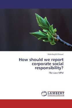 How should we report corporate social responsibility?