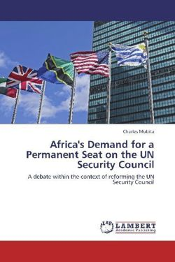 Africa's Demand for a Permanent Seat on the UN Security Council