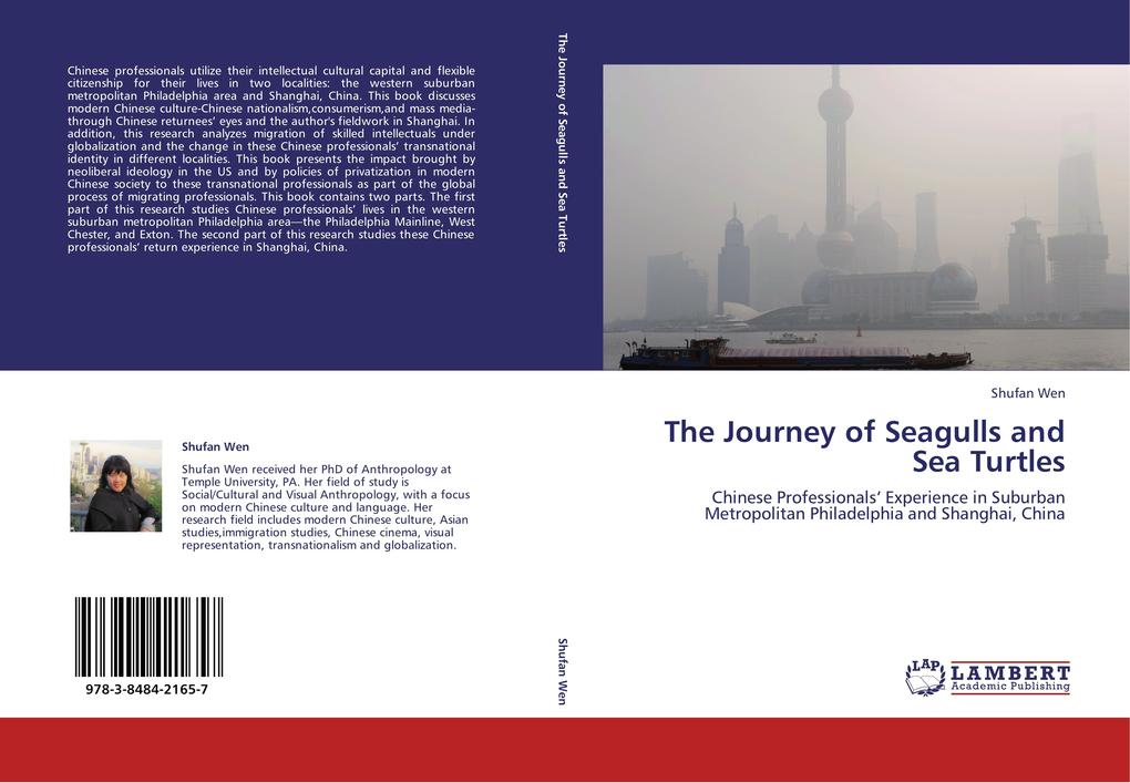 The Journey of Seagulls and Sea Turtles als Buch von Shufan Wen - LAP Lambert Academic Publishing