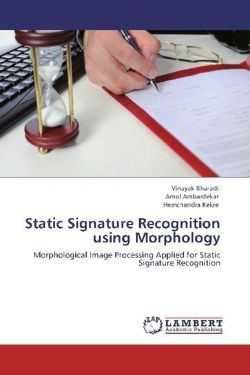 Static Signature Recognition using Morphology