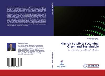 Mission Possible: Becoming Green and Sustainable - Gholamreza Nazari