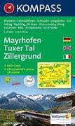 Mayrhofen Tuxer Tal Zillergrund 1 : 25 000