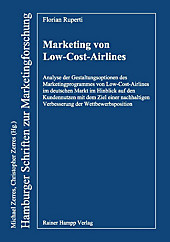 Hamburger Schriften zur Marketingforschung: Marketing von Low-Cost-Airlines - eBook - Florian Ruperti,