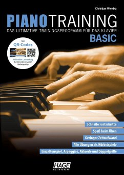 Piano Training Basic, m. Audio-CD - Wondra, Christian
