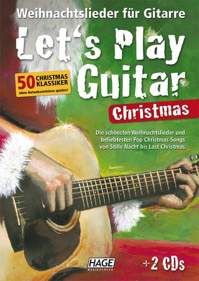 Let's Play Guitar Christmas - Helmut Hage