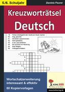 Daniela Feurer: Kreuzworträtsel Deutsch 5.-6. Schuljahr