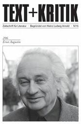 TEXT+KRITIK 206 - Ernst Augustin - Martin Rehfeldt