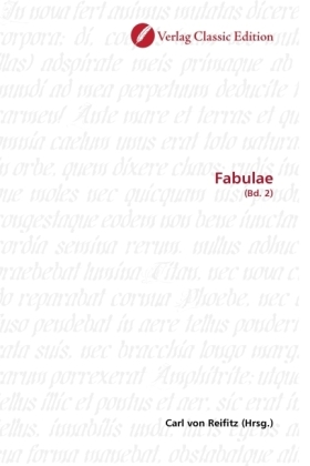 Fabulae - (Bd. 2) - Reifitz, Carl von (Hrsg.)