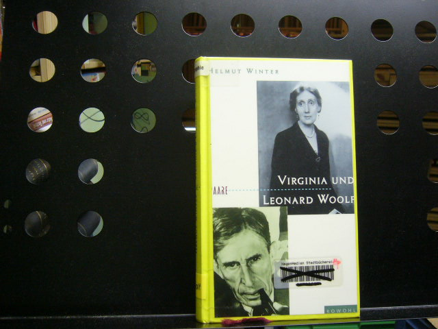 Virginia und Leonard Woolf  1. Auflage - Winter, Helmut