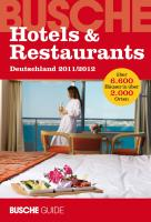 Hotels & Restaurants Deutschland 2011/2012