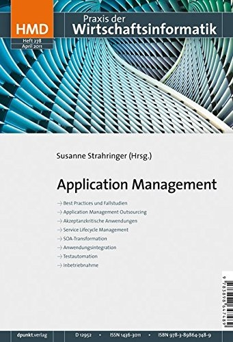 Application Management (HMD - Praxis der Wirtschaftsinformatik) - Strahringer (Hrsg.), Susanne