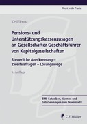 Claudia Keil;Jochen Prost: Pensions- und Unterstützungskassenzusagen an Gesellschafter-Geschäftsführer von Kapitalgesellschaften