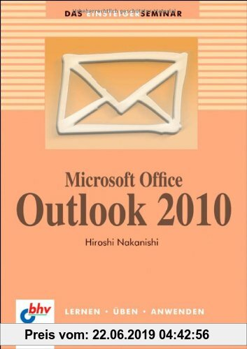 Gebr. - Microsoft Office Outlook 2010 (bhv Einsteigerseminar)