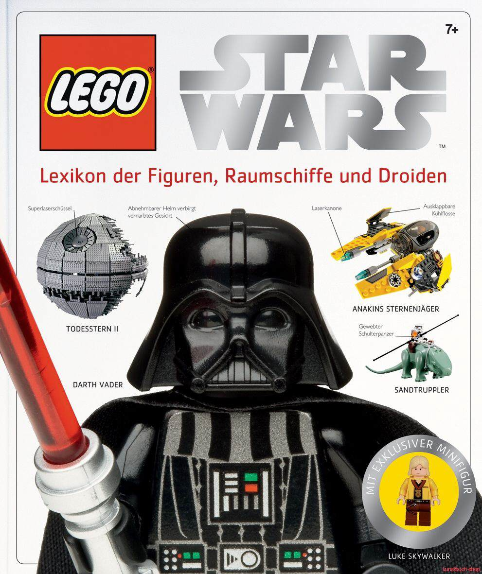 LEGO Star Wars   Lexikon der Figuren, Raumschiffe und Droiden  Incl. limitierter Figur - Simon Beecroft, Jeremy Beckett