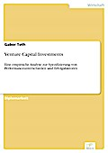Venture Capital Investments - Gabor Toth