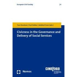 Civicness in the Governance and Delivery of Social Services - Collectif