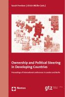 Ownership and Political Steering in Developing Countries