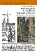 Haefs, Hanswilhelm: Anmerkungen zur Geschichte von Stadt und Land Bremen