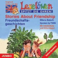 Leselöwen spitzt die Ohren. Stories about friendship. CD