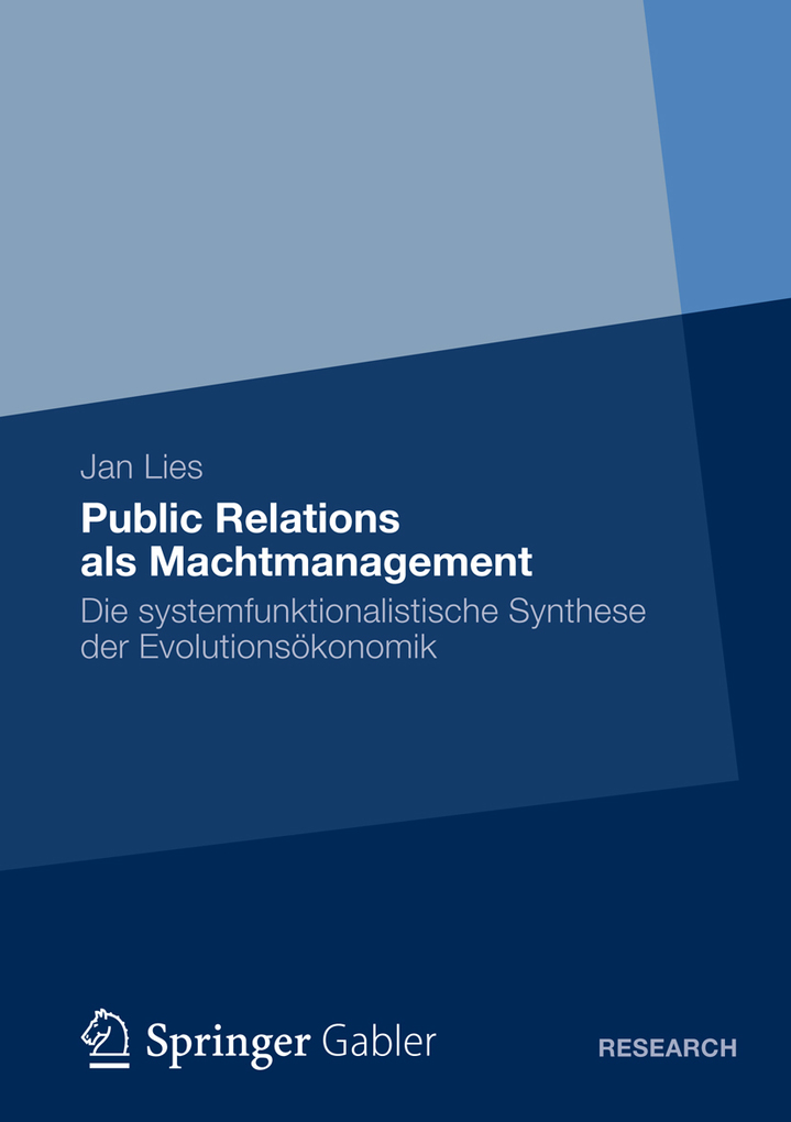 Public Relations als Machtmanagement als eBook von Jan Lies - Springer Fachmedien Wiesbaden