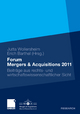 Forum Mergers & Acquisitions 2011 - Jutta Wollersheim; Erich Barthel