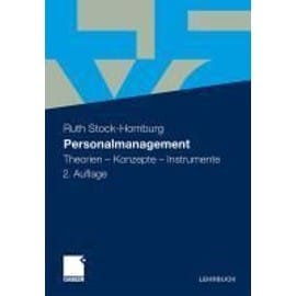 Personalmanagement - Ruth Stock-Homburg