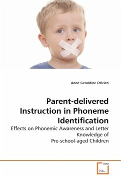 Parent-delivered Instruction in Phoneme Identification - O'Brien, Anne Geraldine