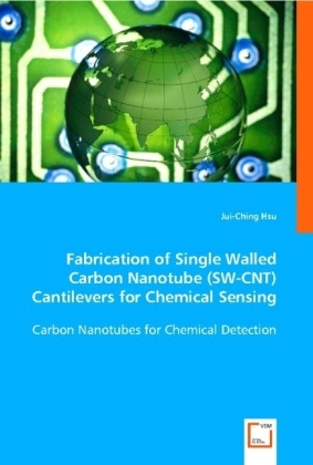 Fabrication of Single Walled Carbon Nanotube (SW-CNT) Cantilevers for Chemical Sensing - Carbon Nanotubes for Chemical Detection - Hsu, Jui-Ching