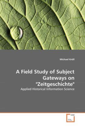 A Field Study of Subject Gateways on