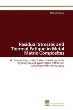 Residual Stresses and Thermal Fatigue in Metal Matrix Composites: A comparative study of stress measurements by neutron and synchrotron diffraction combined with tomography