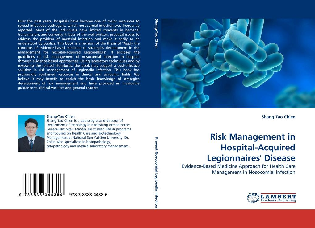 Risk Management in Hospital-Acquired Legionnaires´ Disease als Buch von Shang-Tao Chien - LAP Lambert Acad. Publ.