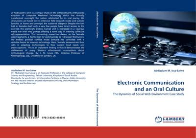 Electronic Communication and an Oral Culture - Abdisalam M. Issa-Salwe