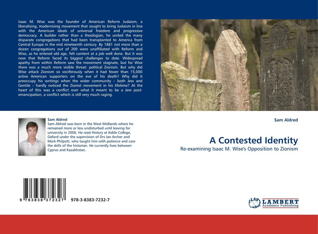 A Contested Identity als Buch von Sam Aldred - LAP Lambert Acad. Publ.