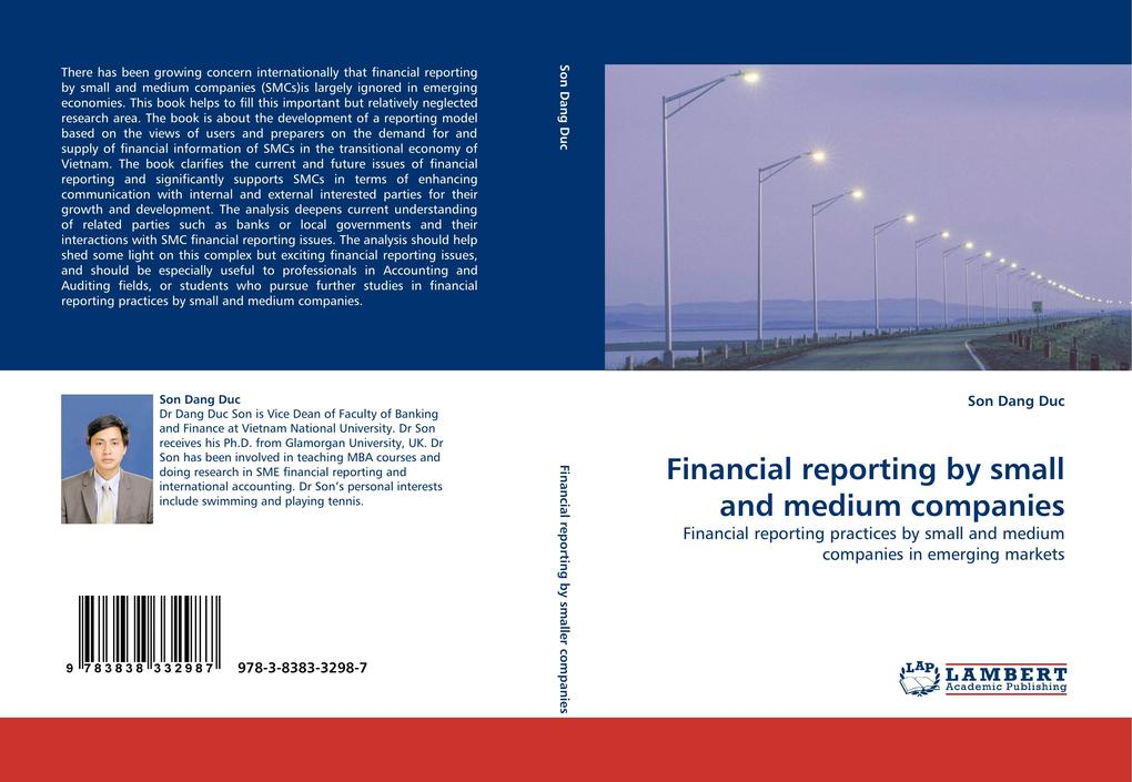 Financial reporting by small and medium companies als Buch von Son Dang Duc - Son Dang Duc