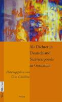 Als Dichter in Deutschland / Scrivere poesia in Germania