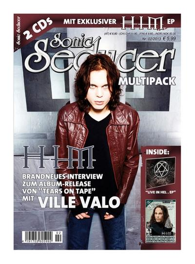 Sonic Seducer Sonic Seducer, HIM Multipack, m. 2 Audio-CDs