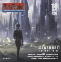 Perry Rhodan, Stardust - Episode 41-60, 10 MP3-CDs