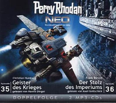 Perry Rhodan NEO 35 - 36 Geister des Krieges - Der Stolz des Imperiums - Christian Humberg