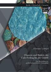 Chancen und Risiken des Cash Pooling bei der GmbH: Eine Beurteilung vor gesellschaftsrechtlichem Hintergrund - Florian Lampe