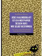 KarlHeinz Karius: Jedes Kalenderblatt ist ein Wertpapier, dessen Kurs wir selbst bestimmen