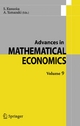 Advances in Mathematical Economics  Volume  9 - S. Kusuoka; A. Yamazaki